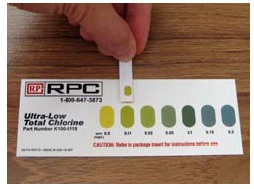 Ultra Low Total Chlorine Test Strip 100 Bg