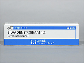 Silvadene Cream 1 20gm Ea