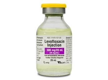 Levofloxacin Injection 500mg 20ml Sdv