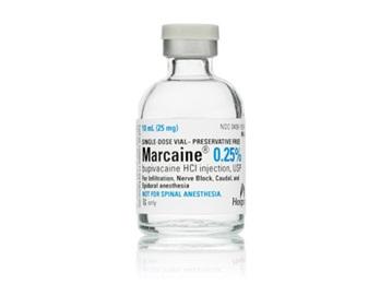 Marcaine 0 25 10ml Sdv 10 Bx Preservative Free