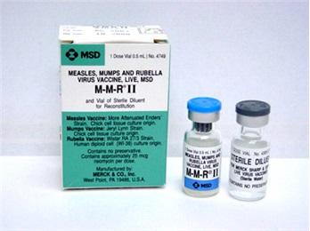 Mmr Vaccine 0 5ml 10 Bx Pull Diluent