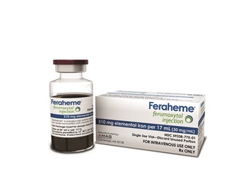 Feraheme 510mg 17ml Sdv Each